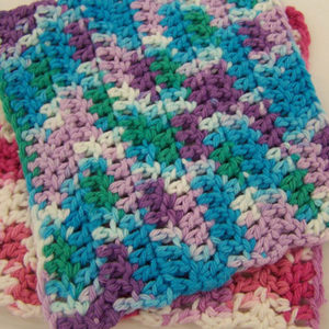 Easy Double Crochet Dishcloth