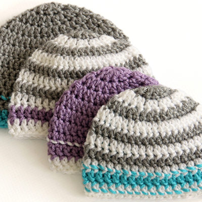 Caps for a Cause Crochet Hat Pattern