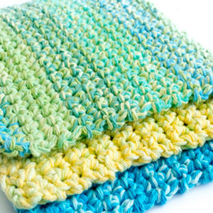 Thick & Easy Crochet Dish Cloth