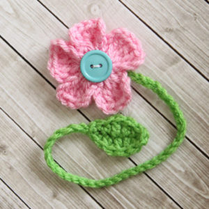 Daisy Bookmark Crochet Pattern